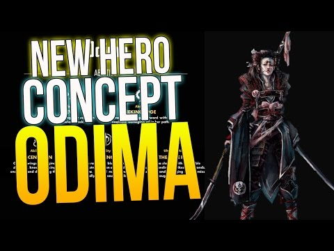 """Paragon New Hero Concepts, ODIMA! """"THE CALLIGRAPHER! PARRY ABILITY & MECHANICS"""" Paragon New Heroes"""