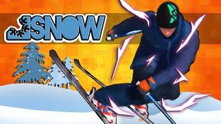 多人滑雪遊戲 ! (SNOW) 搞笑精華