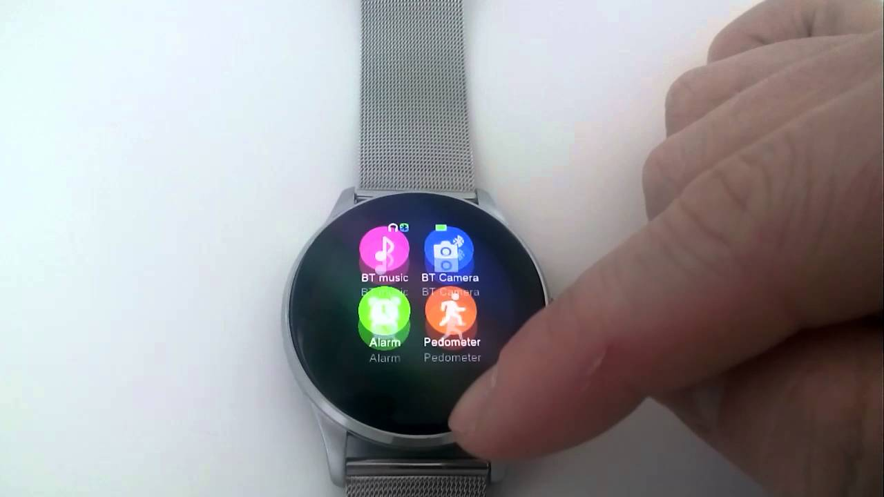 Review K88H Smart Bluetooth Watch Heart Rate Monitor Smartwatch