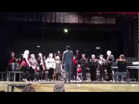 Binational Chorus & Bisbee High School Band. As We Celebrate The Season! (Dec/12/2018, Bisbee, AZ)