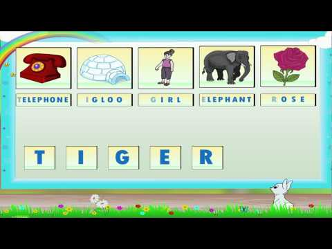 Learn Grade 1 - English Grammar - Letters And Words