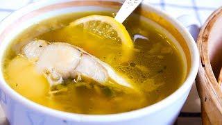 Рыбный Суп с Минтаем, Сельдереем и Соевым Соусом.
