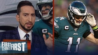 Eagles wouldn't have beat Seahawks even with Carson Wentz — Nick Wright | NFL | FIRST THINGS FIRST