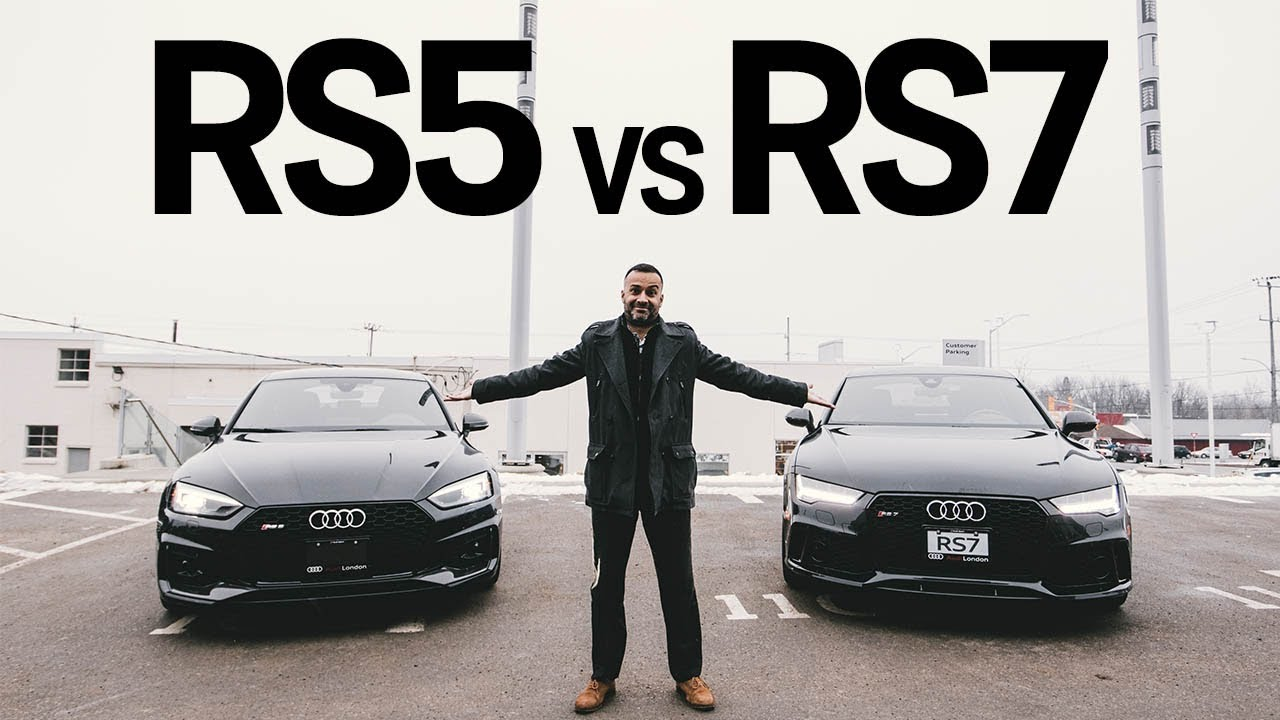 2019 Audi Rs5 Vs 2018 Audi Rs7 Which Do You Prefer