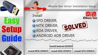 [Setup guide] Miracle Driver Installation 32bit 64bit windows 7  8  10  xp