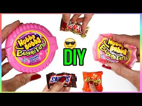 DIY Miniature Squishies! How to Make Candy & Bubblegum Squishy DIYs! Stress Relief-Anti Stress Ideas