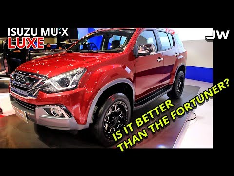 Isuzu mu-x luxe 3.0 review -is it better than the fortuner V? -Philippines