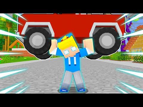 Uso La FORZA SOVRUMANA Da Super EROE!! - Famiglia Di Minecraft STAGIONE 4