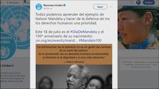 100 años cumpliría Nelson Mandela #EnLaWeb SEG 03