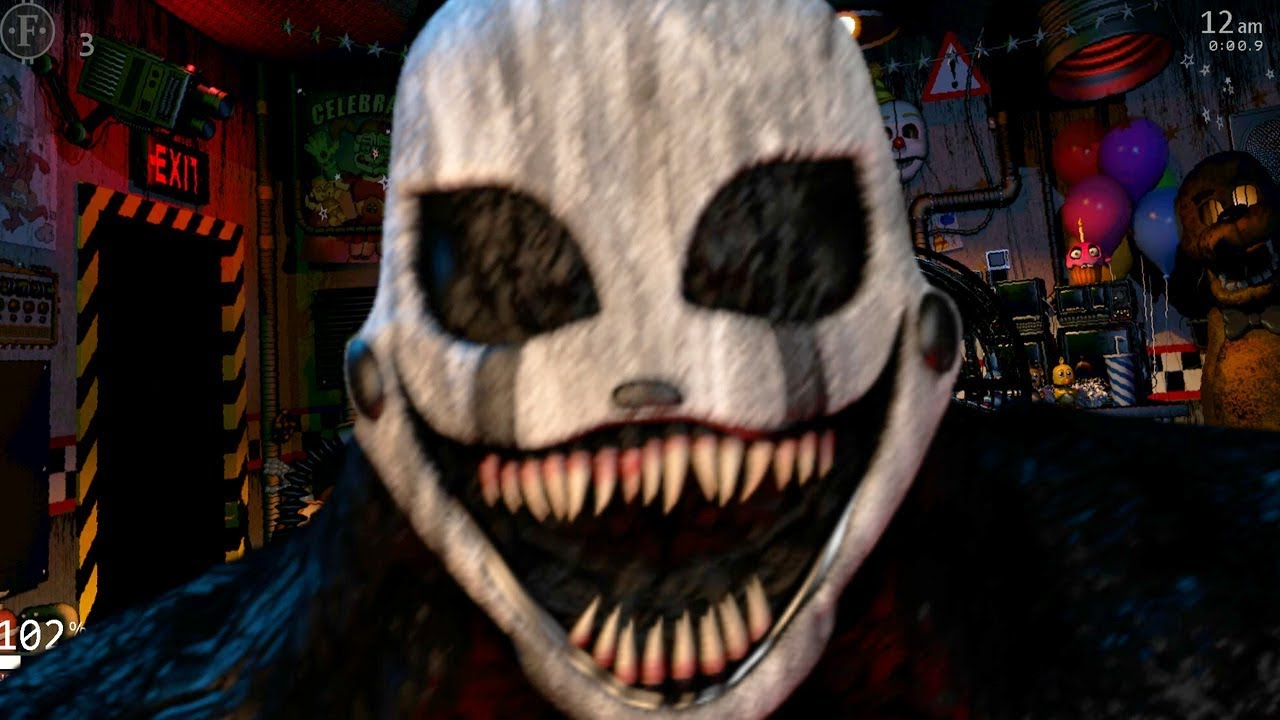 This Is The Scariest Version Of The Puppet Fnaf Ultimate Custom Night Ucn Mod