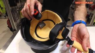 Moto Helmets H 44 review by MotoRAID (Greek)