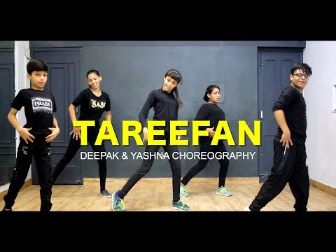 Tareefan - Kids Dance  Class   Deepak N Yashna Choreography  G M Dance Centre  Badshah