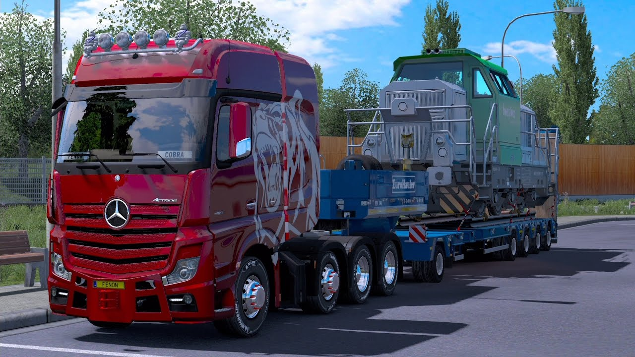 euro truck simulator 2 heavy cargo pack dlc nova atualiza o youtube. Black Bedroom Furniture Sets. Home Design Ideas