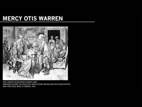 Founding Mothers: Mercy Otis Warren
