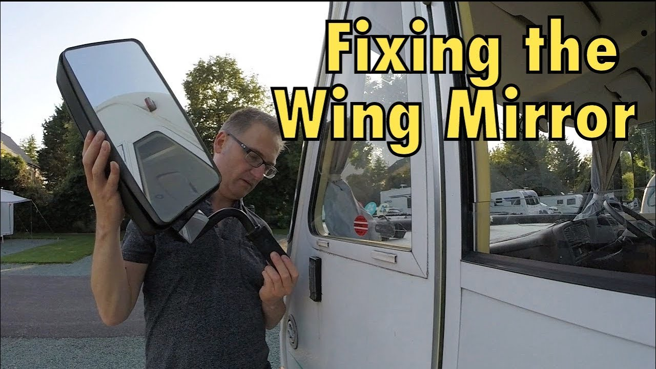 how to change a wing mirror