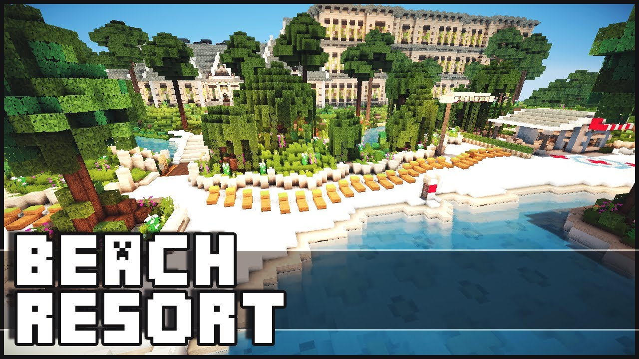 Minecraft beach resort youtube gumiabroncs Gallery