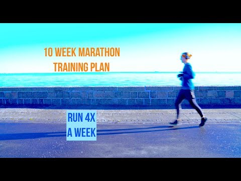 10 WEEK MARATHON TRAINING PLAN    Habit vs. Discipline R2 Badwater