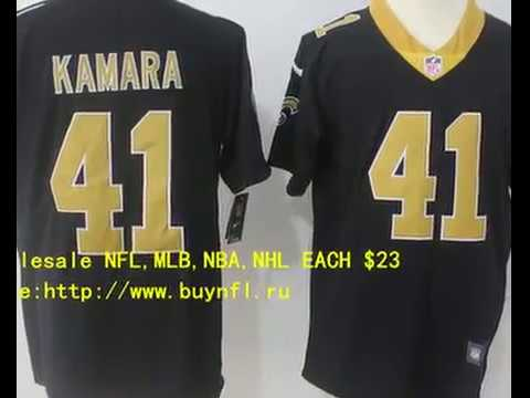 cheap for discount a2be5 f4678 New Orleans Saints 41 Kamara Cheap NFL Jerseys China From buynfl.ru Only  $23 Wholesale Price