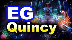 EG vs Quincy Crew - 14 Min GG - BTS PRO Series DOTA 2