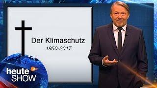 RIP Klimaschutz: Dietmar Wischmeyer hält die Grabrede