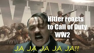 HITLER REACTS TO CALL OF DUTY WWII!