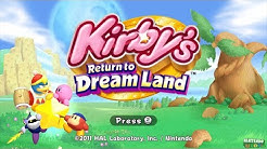 Kirby's Return to Dream Land for Wii ᴴᴰ (2011) Full Playthrough (All Energy Spheres, 4 Player)