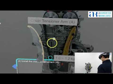 IAR MAP Demo for Engine with Hololens