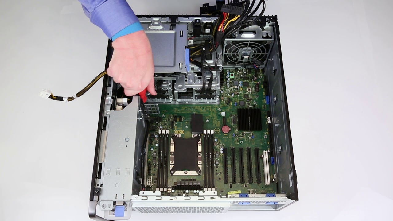 Dell Precision 5820 and 7820: Replace Motherboard