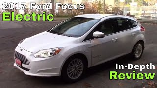2017 ford focus electric - base. available since late 2012, new for is a bigger battery & fast charging. how does it fair against the competition? watch...
