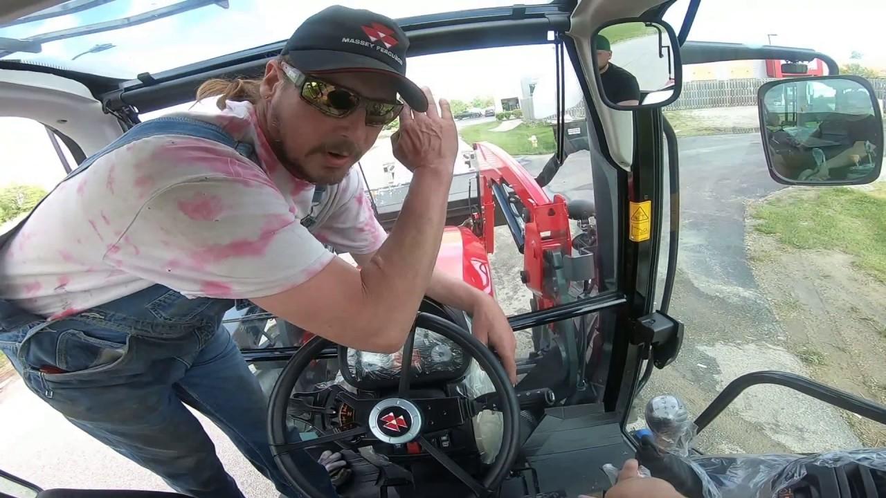 #2 Первый раз загружаю трактор САМ | дальнобой по США