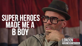 MY LOVE OF SUPERHEROES INSPIRED MY BREAKDANCING   BBoy Storm on London Real