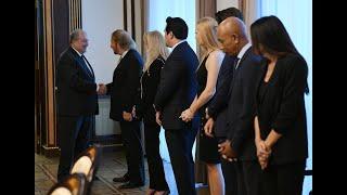 «Բարեփոխելով աշխարհը» փառատոնի հատուկ մրցանակը շնորհվել է ՀՀ նախագահին