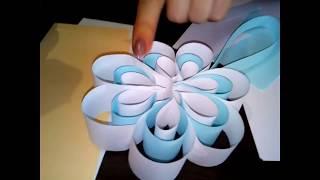 Красивые , объёмные снежинки из бумаги-2 . (Вера Журавская)