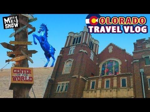 COLORADO TRAVEL VLOG - International Church of Cannabis - The Center of The World