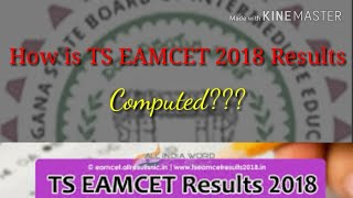 How is TS EAMCET Result 2018 computed???