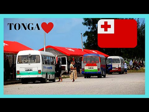 TONGA, the graphic bus ride around its capital NUKU'ALOFA (Pacific Ocean)
