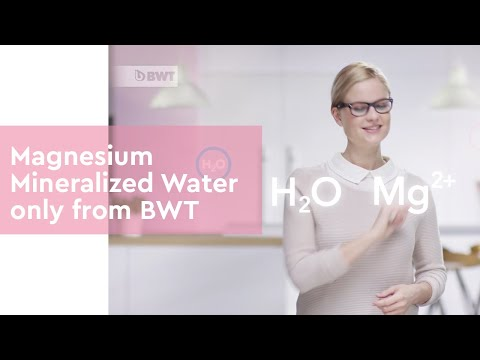 Magnesium Mineralized Water Only From BWT
