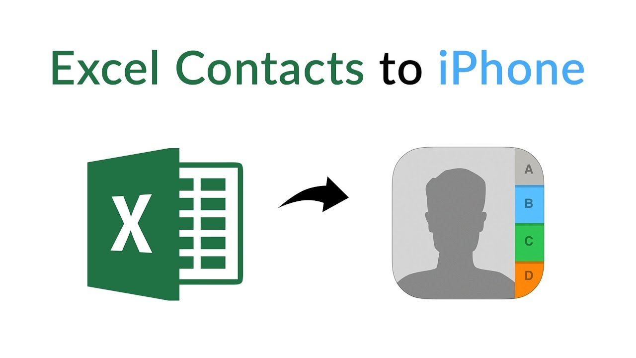 Excel to vCard Converter to Export XLS Contacts to VCF File