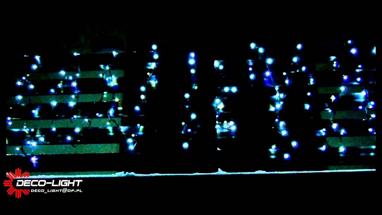 Lampki Led Białe Zewnętrzne Ozdoby świąteczne Hestia 100 żarówek