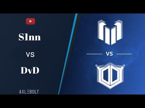 Шоу Матч DvD vs Slnn/Комментирую за 100 голды/Напряжённый Матч/.\\