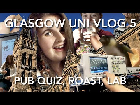 Pub Quiz Rowdiness, Dinner with Industry, Roasts and a Lab | Glasgow Uni Engineering