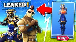 FORTNITE *EPIC* ALL SKIN LEAKS! v5.3 Skin, Glider, Emotes In Fortnite Battle Royale