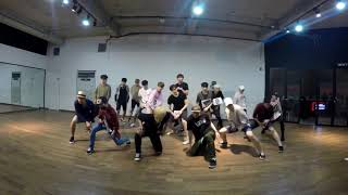 U-KISS - Stalker / Dance practice (color ver.)
