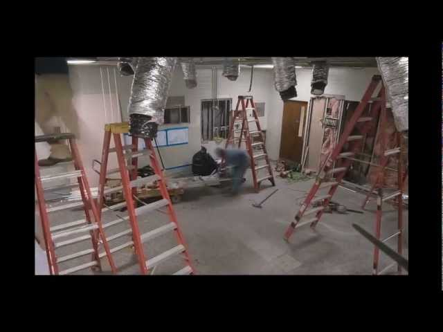 Operating Room Renovation - Time Lapse