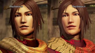 Dynasty Warriors 8 Graphics Comparison PS4 Vs PS3