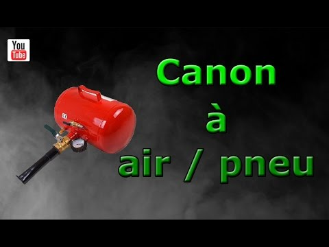 canon air pour pneus bricol 39 tout youtube. Black Bedroom Furniture Sets. Home Design Ideas