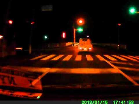 ドライブレコーダー【GSKオリジナル】夜間・市街地