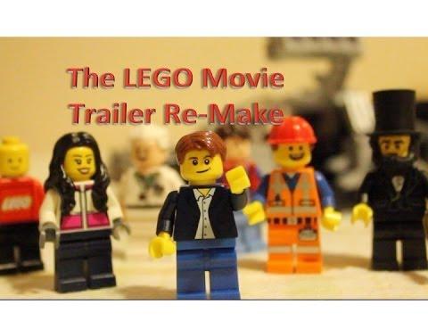 The LEGO Movie Trailer Remake