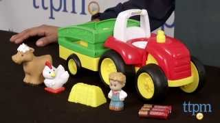 Little People Tow 'n Pull Tractor From Fisher-price