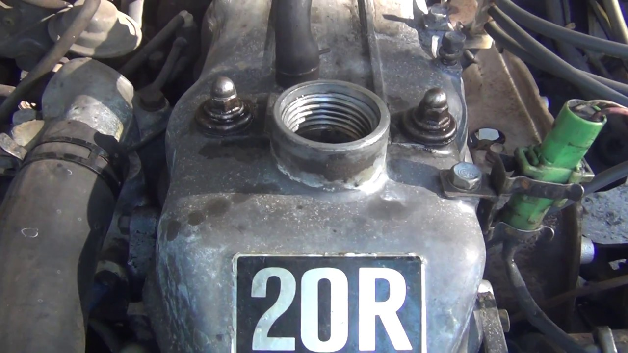 40 Year Old Toyota 20R No Engine Blow Bye